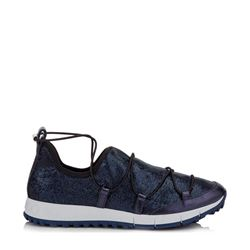 Sneakers in blue by Jimmy Choo at Ingolstadt Village