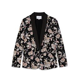 Claudie Pierlot, Jacket with floral pattern