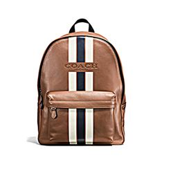 'Charles' backpack sports in varsity by Coach at Wertheim Village