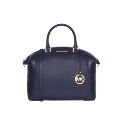 Michael Kors Navy Riley Large Satchel