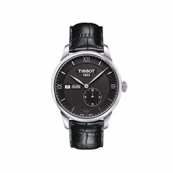 Tissot, Le Locle watch, black bracelet