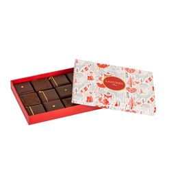 Gift box of 12 chocolates
