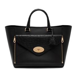 Mulberry willow tote ostrich
