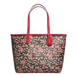 City tote reversible floral multi Coach