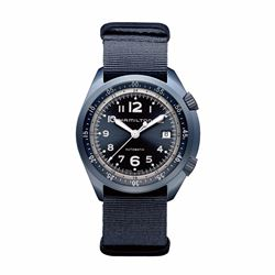 Hour Passion Hamilton khaki aviation 41 automatic in blue