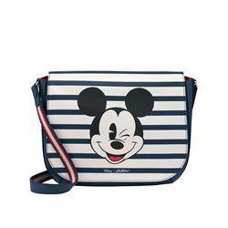 Cath Kidston  Mickey and Friends leather saddle bag from Bicester Village