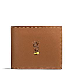 Men's wallet '3 in 1 Wallet in Leather featuring Mickey' by Coach at Ingolstadt Village