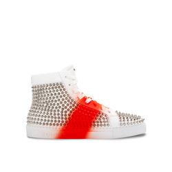 Philipp Plein, Baskets blanches et rouges