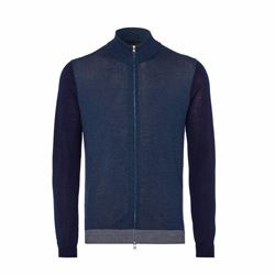 Falke Navy zip up sweater