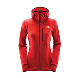 Women's Orange Full Zip Hoodie