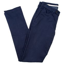 Hackett navy trousers
