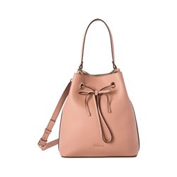 Furla Costanza Medium Drawstring in full grain leather