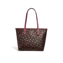 Coach Signature Star City Zip Tote