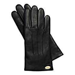 Basic Leather Glove Black