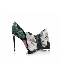 Mary 100 floral heel