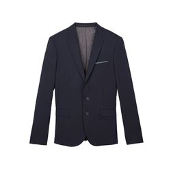 Navy suit jacket