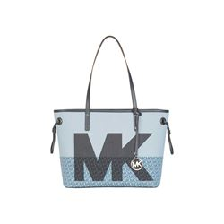 Michael Kors Pale Blue Multi JST Large TZ Downstrap Tote