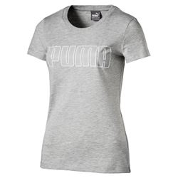 PUMA Ladies Light Grey Tee-Shirt