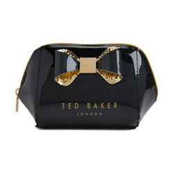 Ted Baker glitter bow makeup bag