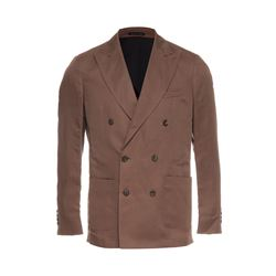 Brown lounge blazer