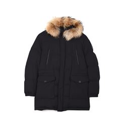 Dunhill, Navy down-filled parka