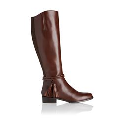 L.K Bennett Georgina boots in chesnut