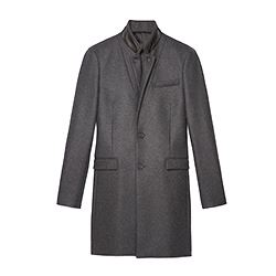 The Kooples Mens wool and cashmere coat