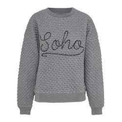 Pepe Jeans -Pull gris Soho