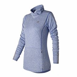 New Balance Women's blue long sleeve top