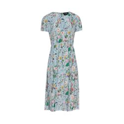 The Kooples  Long blue floral dress from Bicester Village