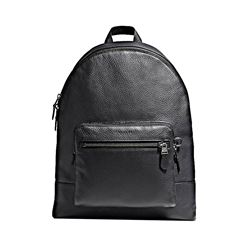 Coach West Backpack In Pebbled Leather