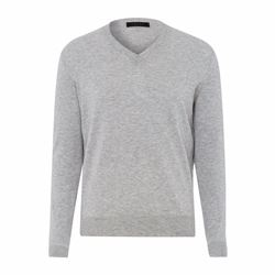 Falke Men's grey knit sweater