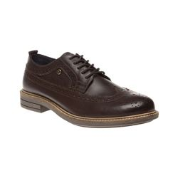 Hackett brown leather shoe