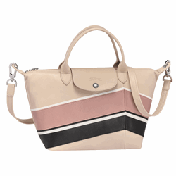 Bag in beige by Longchamp in Wertheim Village