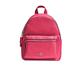Backpack 'Mini Charlie' in pink by Coach at Ingolstadt Village