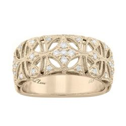 Signet Jewellers Neil Lane 14ct yellow gold and diamond ring