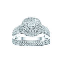 Signet Jewellers 18ct white gold 1ct diamond ring