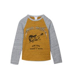 Little Marc Jacobs, Yellow and grey T-shirt