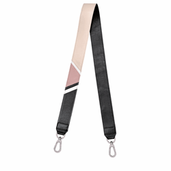 Pocket carrier in pink/black by Lonchamp in Wertheim Village