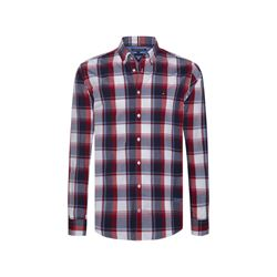 Tommy Hilfiger men's haute red/ multi alluring check shirt
