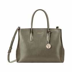 Furla Tessa small tote in salvia