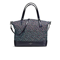 Shopper 'Floral' in blue by Coach at Ingolstadt Village