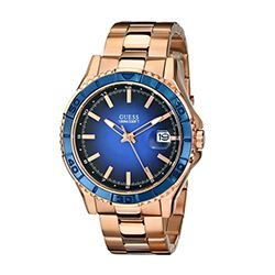 Guess gold mens watch