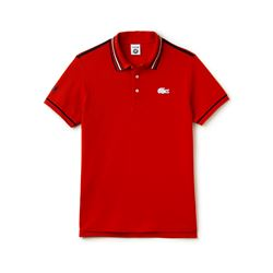 Lacoste, Polo rouge