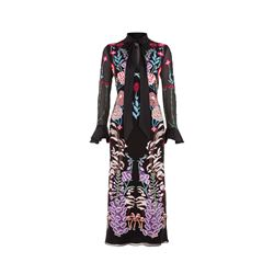 Temperley London  Woodland tie dress from Bicester Village