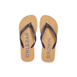 Orlebar Brown  Haston cork flip flop from Bicester Village