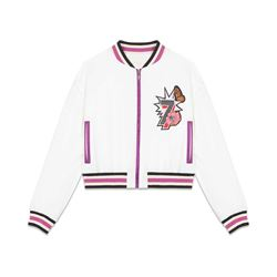 Maje women's Cropped embroidered jacket