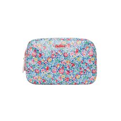 Cath Kidston  Blue oil cloth washbag from Bicester Village