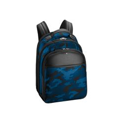 Montblanc Men's Blue Sartorial Backpack Small