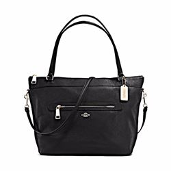 Coach Tyler pebbled leather tote